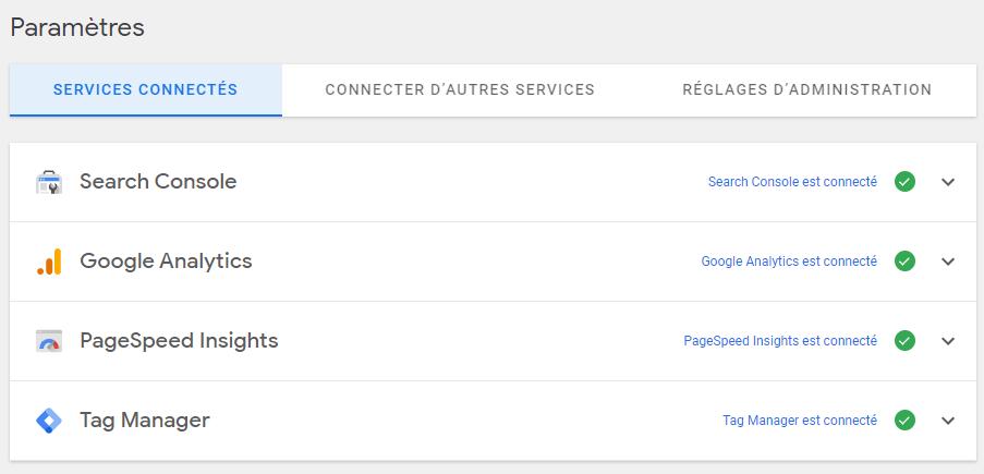 Google Site Kit WordPress Extension